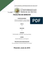 Banco Central de Reserva Del Perú Trabajo