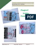 Passport Travel Holder