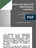 Manejo de Desechos Industriales Eidy Cuesta