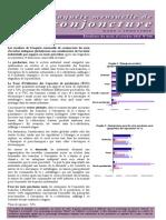 Enquete Mensuelle de Conjoncture Dans l'Industrie Marocaine en Octobre