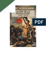 Hobsbawm Eric - La Era de La Revolucion 1789 1848