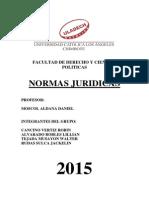 Trabajo Normas Juridicas