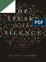 He Speaks in the Silence Sample