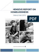 Utah Comprehensive Report on Homelessness 2015