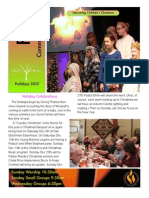 FCC Newsletter Holidays 2015
