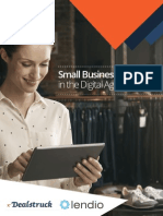 Small Business Lending in the Digital Age
