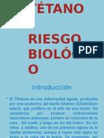 Presentación enfermedad  tetano