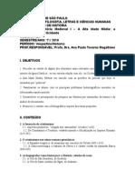 Profa. Ana Paula Magalhaes Historia Medieval