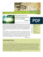St. Paul's News - April, 2010