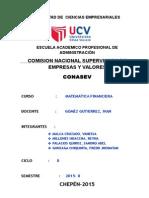 Informe Conasev Expo Miercoles
