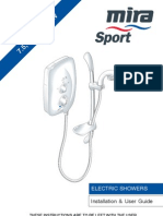 Mira Sport Electric Shower Manual