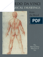 Leonardo Da Vinci Anatomical Drawings