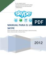 manual para el uso skype