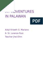My Adventures in Palawan