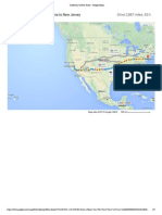 California to New Jersey - Google Maps