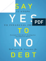 Say Yes to No Debt Sample