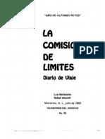 Cuaderno 39. La Comisión de Límites. Diario de viaje