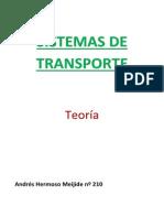 Sistemas de Transporte (Caminos, Canales y Puertos)