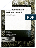 Griffin, David (2007) Developments in E-Governance, IOS Press, Netherlands