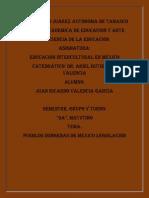 12. Los Pueblos Indigenas en México-Lesgislación