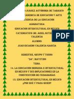14. La Educación Indígena e Intercultural en México y Sus Implicaciones en La Construcción de Ciudadanías