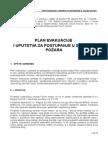 Plan Evakuacija i Uputstva