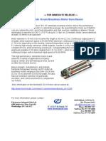 Maxon Sterilizible EC16 Press Release