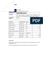Pentane6040 Data Sheet-Shell Chemicals