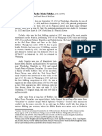 De Jarlis, Andy (1914-1975) Metis Master Fiddler