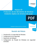 20410A_09 Asegurando Servidores Windows Usando Objetos de Directivas de Grupos