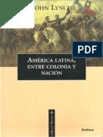 America Latina Entre Colonia y Nacion John Lynch