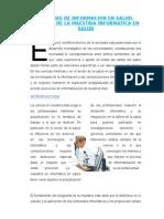 Articulo Cientifico Sistemas de Informacion en Salud