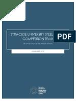 syracuse university steel bridge update 2015