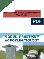 PERALATAN  PRAKTIKUM  AGROKLIMATOLOGY