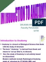 L1 Intro Anatomy