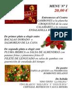 Menus Navidad 2015