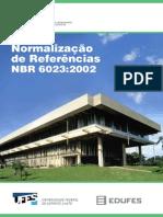 Normalizacao de Referencias NBR 6023 2002