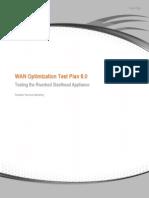 WAN Optimization Test Plan 8.0