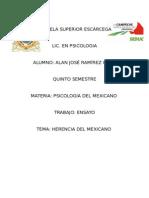 Herencia Del Mexicano