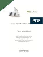 Plano Museológico 2012 1a Versão JANEIRO