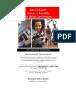 MasterCard Debit Card Benefits Brochure