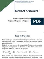 11. Integración Aproximada-Regla Del Trapecio y Regla de Simpson