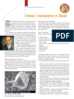 Inclusions in Steel