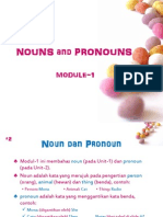 Modul-1 Noun and Pronoun