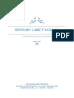 Reforma Constitucional-luis Enrique Cabrera Chalan