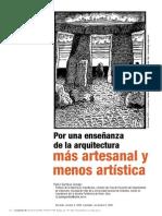 PorUnaEnsenanzaDeLaArquitecturaMasArtesanalYMenosA-3622320