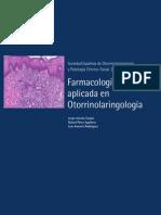 Farmacologia Aplicada en Otorrinolaringologia