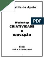 Apostila Workshop Criatividade e Inovação