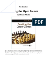 Beating the Open Games_M. Marin