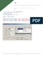 Base de Datos Visual Studio
